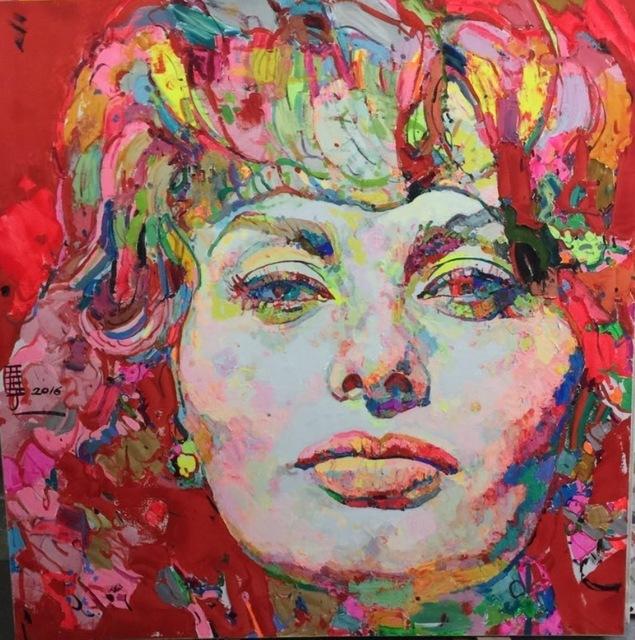 , 'Sofia Loren 索非亚-罗兰,' 2016, Ode to Art
