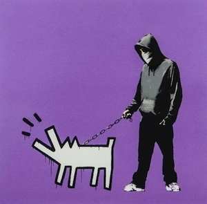 Banksy, 'Choose Your Weapon (Bright Purple)', 2010, Vogtle Contemporary