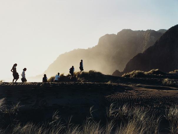 Justine Kurland, 'Parade across the Dune, New Zealand', 2001, Phillips