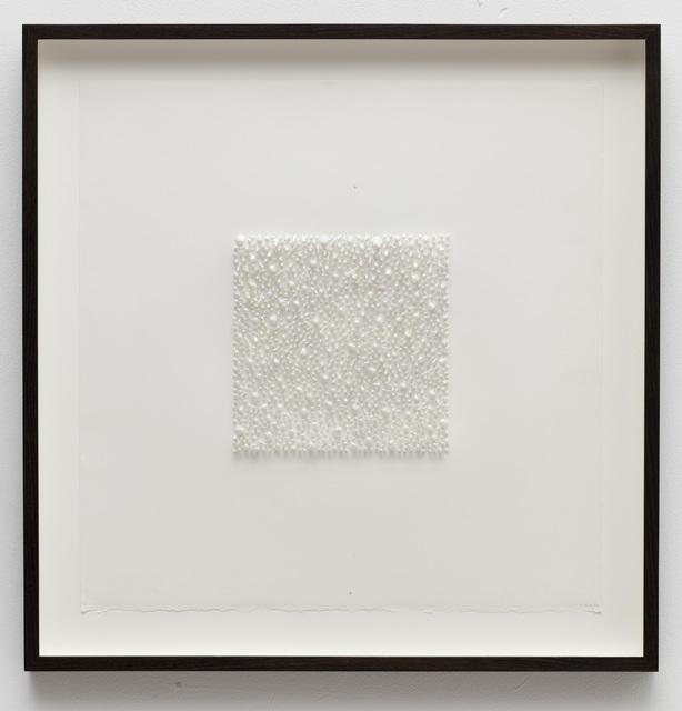 , 'Organic square#04 (pale),' 2016, Anne Mosseri-Marlio Galerie
