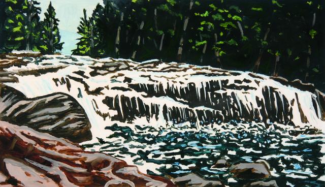 , 'Buttermilk Falls,' 2011, Stewart & Stewart