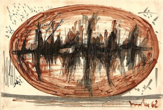 , 'An egg,' 1960-s, Vellum