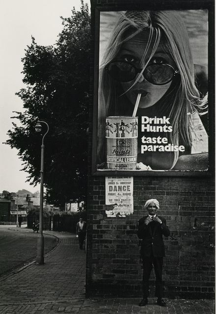 , 'The street (c.1968). Black and white photographic print. Courtesy Cadbury Research Library, University of Birmingham.,' ca. 1968, Ikon Gallery