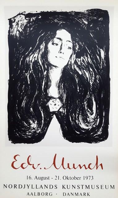 Edvard Munch, 'Madonna (Eva Mudocci: The Brooch)', 1973, Graves International Art