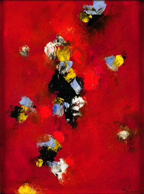 Charles Green Shaw, 'Fandango', Painting, Oil on canvas board, Vallarino Fine Art