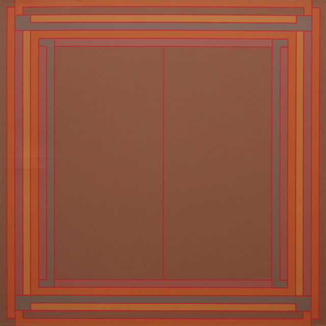 , 'One at the Centre - Red,' 1971, David Richard Gallery