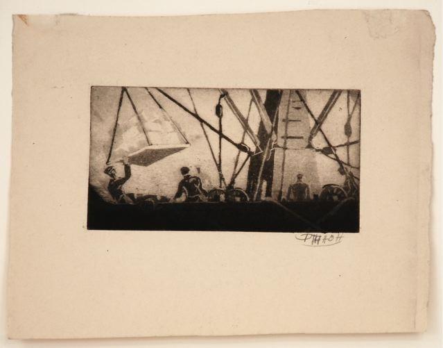 , 'Pier 27 (Ittman #47),' ca. 1935, Sragow Gallery