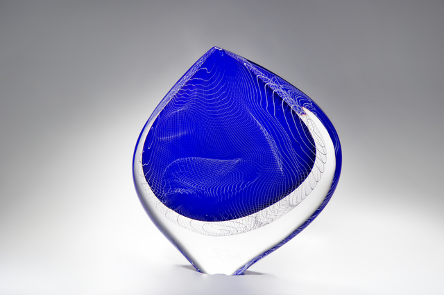 , 'Blue Burano,' 2016, London Glassblowing Gallery