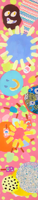 , 'Wallpaper H, Popscicles,' 2017, Newzones