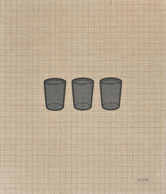 Tino Stefanoni, 'I bicchieri 67D', 1975, FerrarinArte/Kromya