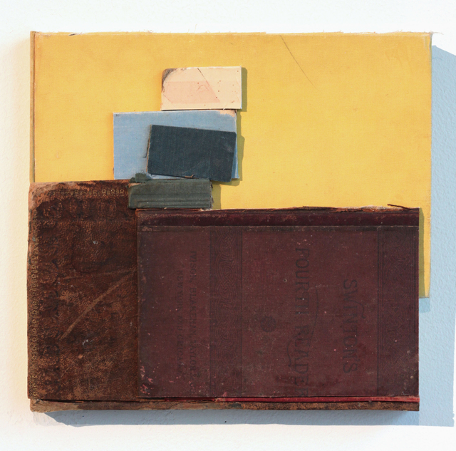 , 'Stacked Boxes Yellow Sky,' 2018, John Davis Gallery