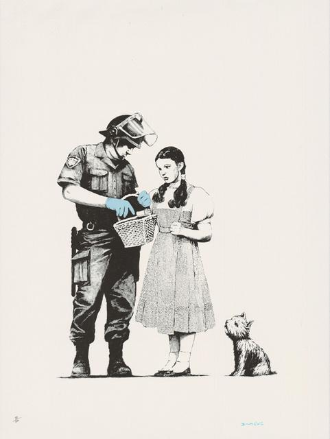 Banksy, 'Stop & Search (Signed)', 2009, Prescription Art