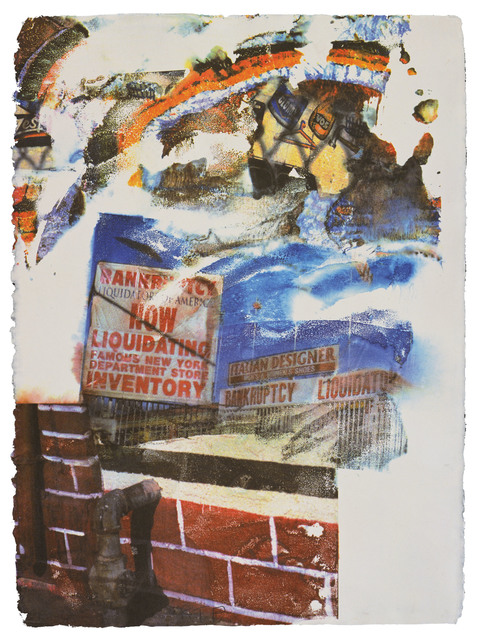 Robert Rauschenberg, 'L.A. Uncovered #6', 1998, Print, 11 color screenprint, Gemini G.E.L.