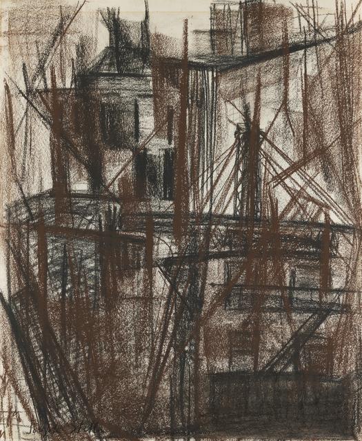 , 'Construction on 10th Street,' , Debra Force Fine Art