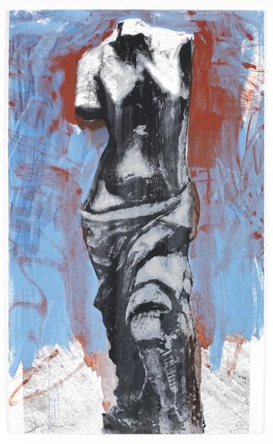 , 'The Red, White and Blue Venus,' 1984, Osborne Samuel