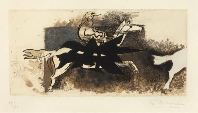 , 'Le Jockey,' 1954, F.L. Braswell Fine Art