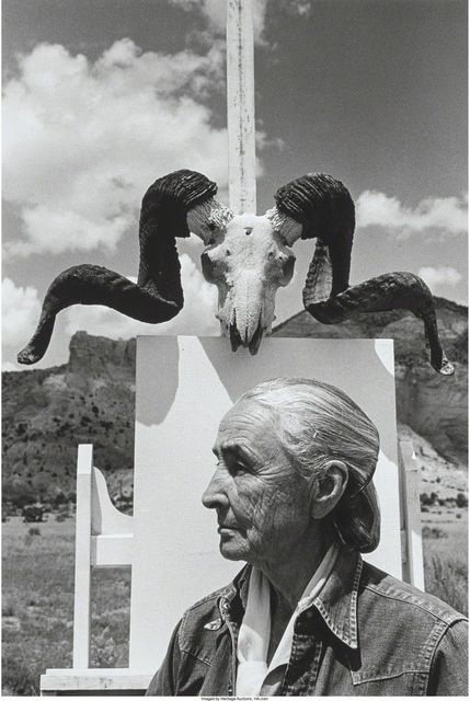 , 'Georgia O'Keefe, Ghost Ranch, New Mexico,' 1968, HackelBury Fine Art