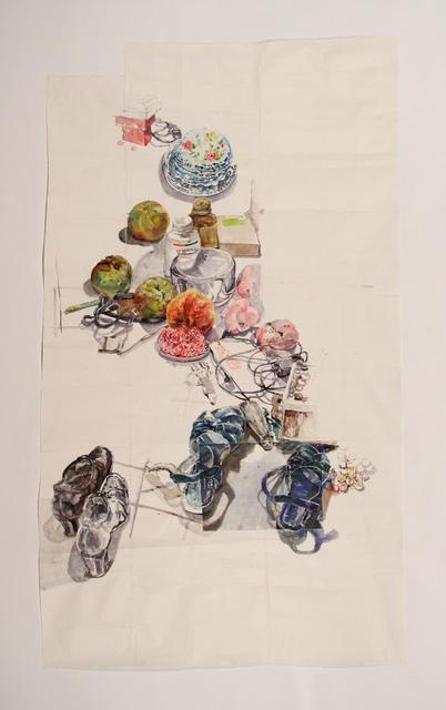 , 'Kitchen Floor,' 2010, Pierogi