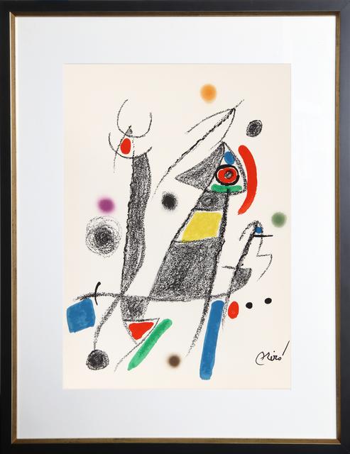 Joan Miró, 'Maravillas con Variaciones Acrosticas en el Jardin de Miro, Number 8', 1975, RoGallery