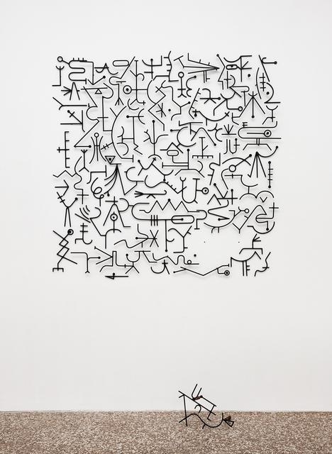 , 'Blind Alphabet,' 2014, Federico Luger (FL GALLERY)