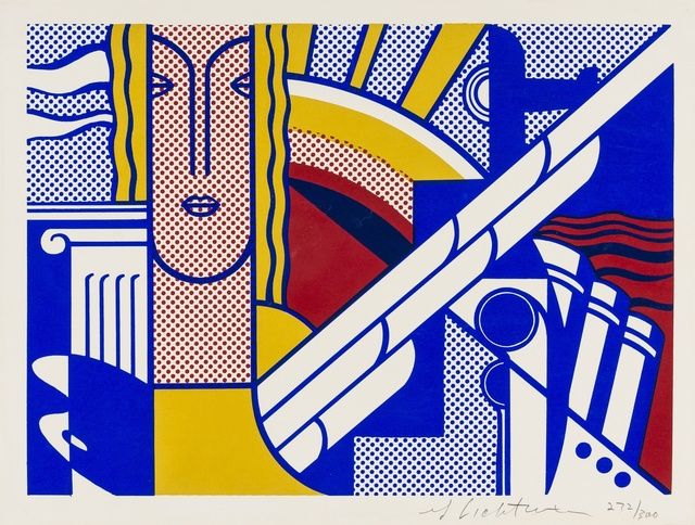 Roy Lichtenstein, 'Modern Art Poster (Corlett II.8)', 1967, Print, Screenprint in colours, Forum Auctions