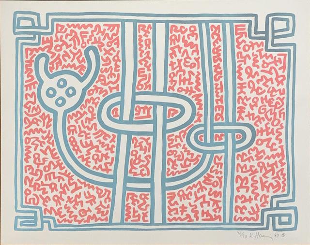 Keith Haring, 'Chocolate Buddha 3', 1989, Hamilton-Selway Fine Art