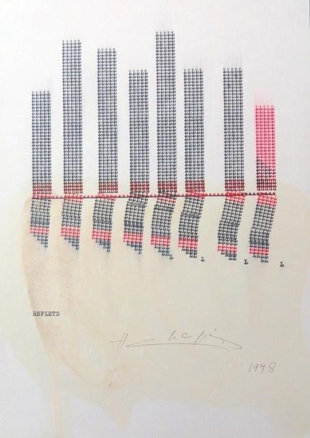 , 'Reflets,' 1978, Richard Saltoun