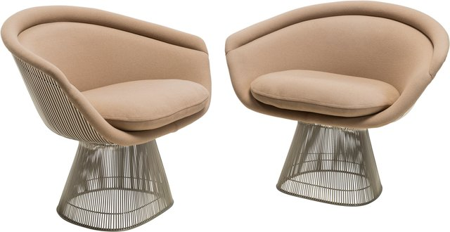 Warren Platner, 'Pair of Lounge Chairs', circa 1980, Heritage Auctions