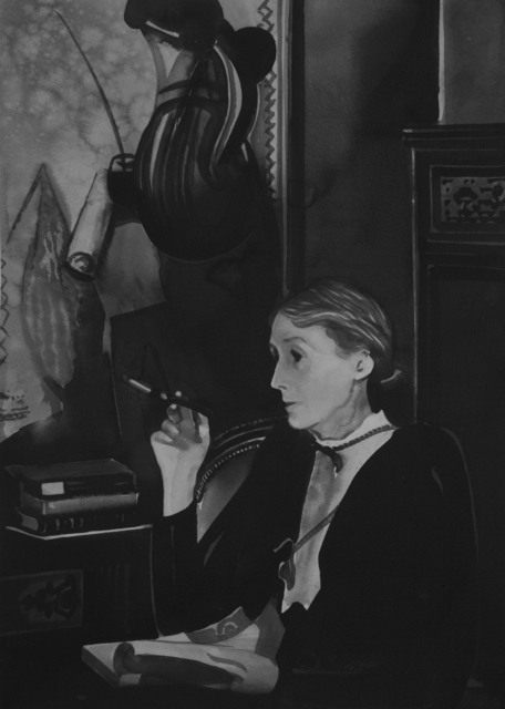, 'Virginia Woolf (from the series Female Heroes),' 2019, Christine König Galerie