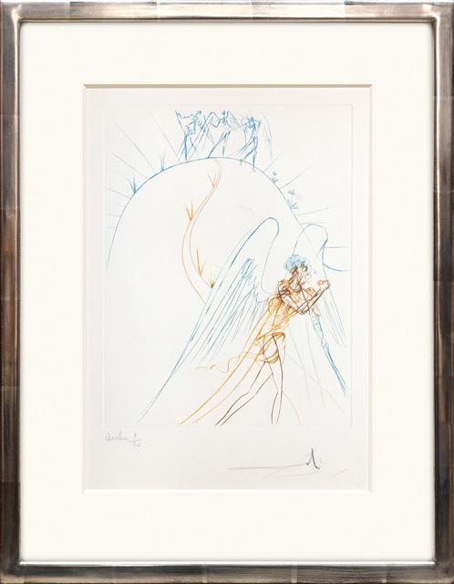Salvador Dalí, 'Le fuite de Satan. (The Flight of Satan.)', 1974, Peter Harrington Gallery