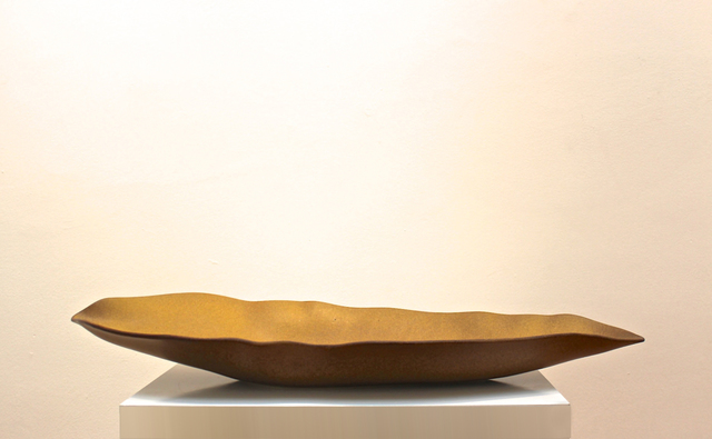 , 'Golden Leaf Bowl ,' 2017, ammann//gallery