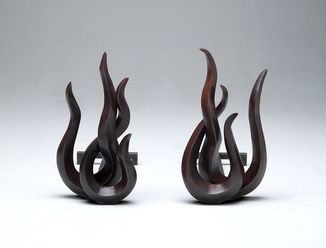 , 'Firedogs 'Flames Japan',' 2012, David Gill Gallery