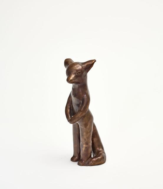 Clémentine de Chabaneix, 'Standing fox', 2020, Sculpture, Patinated bronze, Antonine Catzéflis