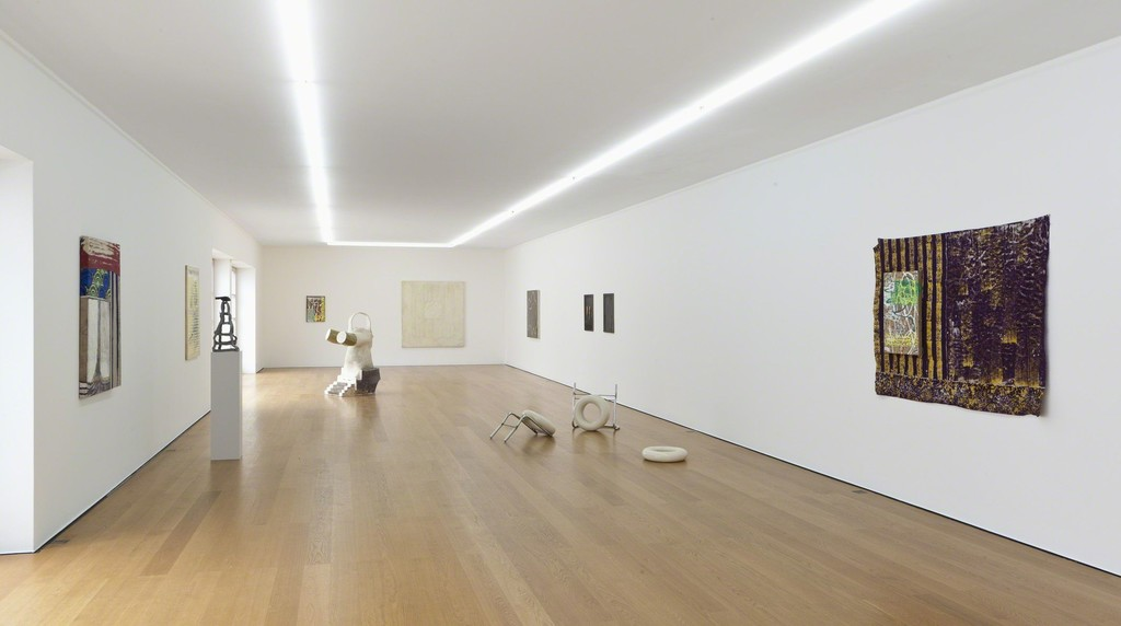 Installation view at Galerie Rüdiger Schöttle, 2017. Photo: Wilfried Petzi.