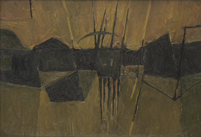 , 'Structure from a Landscape,' 1959, Annely Juda Fine Art