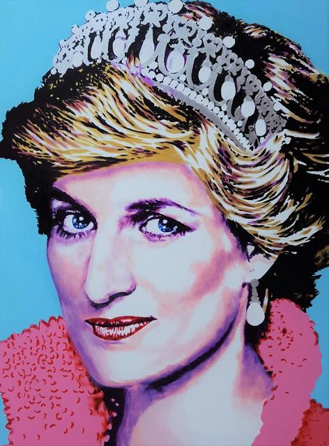 Jack Graves III, 'Princess Diana Icon III', 2019, Graves International Art