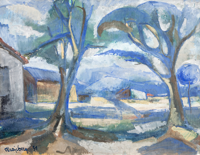 , 'Paisagem,' 1951, Galeria Frente