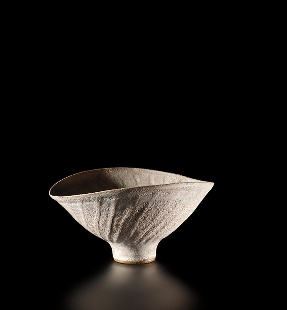 Lucie Rie, 'Oval bowl with fluted sides', circa 1980, Phillips