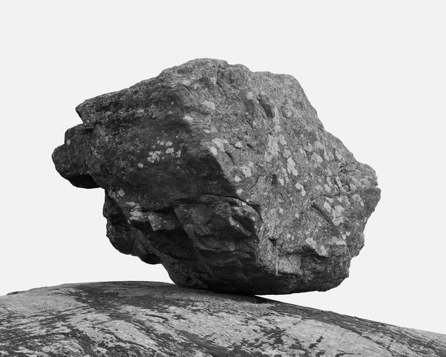 , 'Glacial Erratic,' 2016, Rotwand