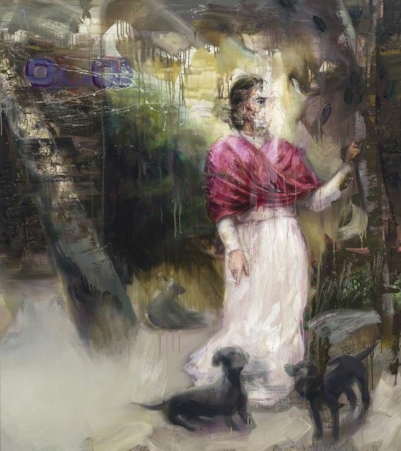 , 'Frida in Garden,' 2018, Thompson Landry Gallery