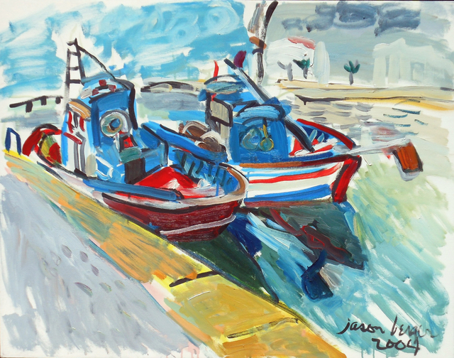 Jason Berger, 'Fishing Boats, Tavira', 2004, Childs Gallery