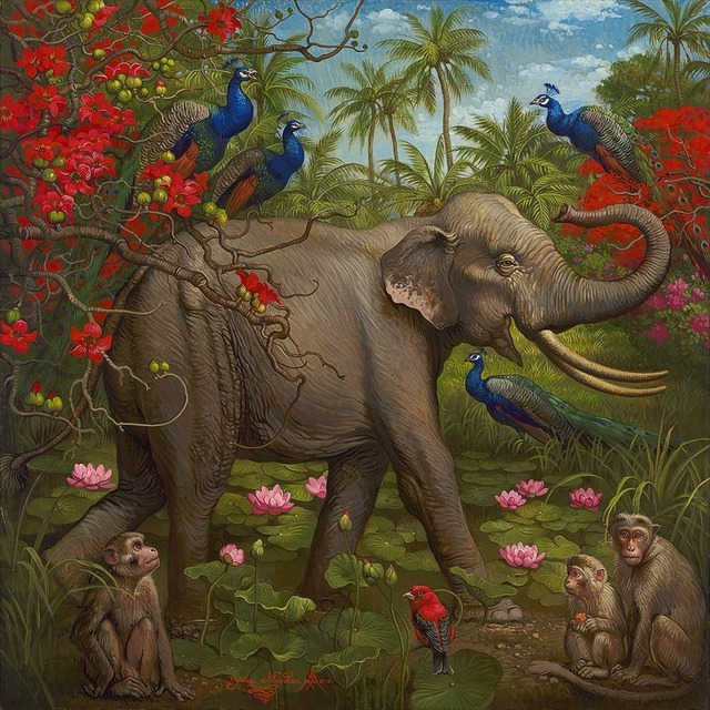 , 'Jungle of Happiness,' , Miller Gallery
