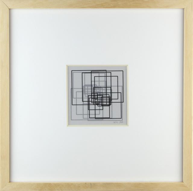 , 'La javà de 24 carrés,' 1974, Galerie Zlotowski
