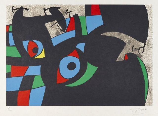 Joan Miró, 'Plate 7 from Le Lézard aux Plumes D'or [Maeght 803]', 1971, Roseberys