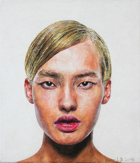 Ulrich Lamsfuss, 'Jürgen Ostarhild, Avatars 1_blond', 2015, Painting, Oil on canvas, Hammelehle und Ahrens