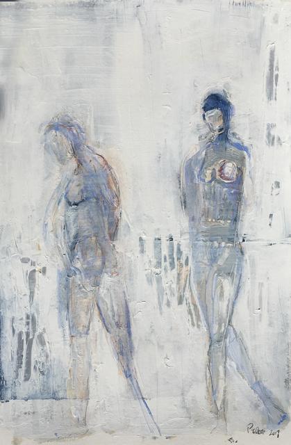 , 'Blue Figure III,' 2017, BoxHeart