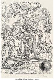 Untitled, from Les Songes drolatiques de Pantagruel