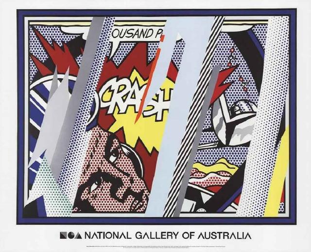Roy Lichtenstein, 'Reflections on Crash', 1990 (2013), Print, Lithograph, Leviton Fine Art