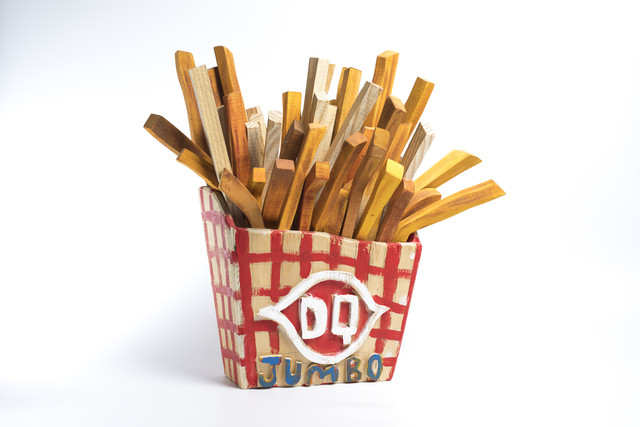, 'French Fries,' 2018, Webb Gallery