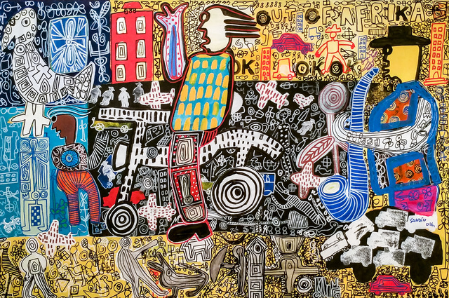 , '100% Afric,' 2016, Out of Africa Gallery